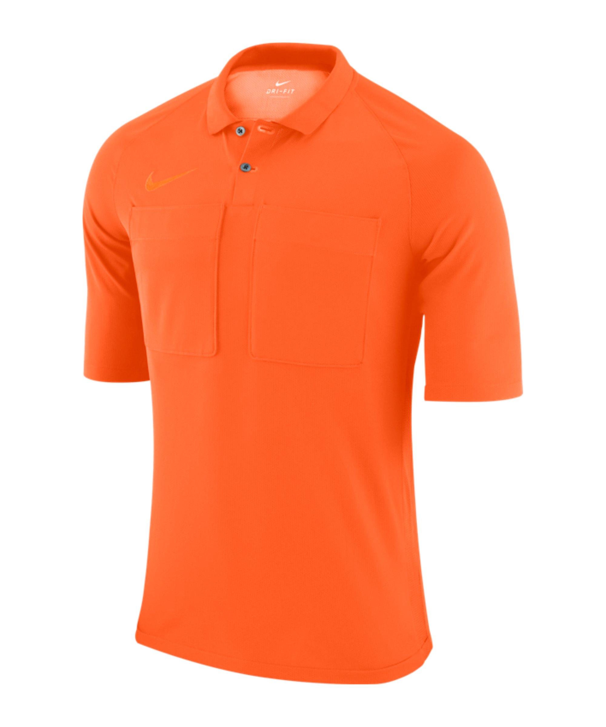 Nike Dry Referee Trikot kurzarm Orange F819 - orange