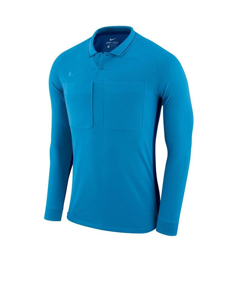 Nike Dry Referee Trikot langarm Blau F482 - blau