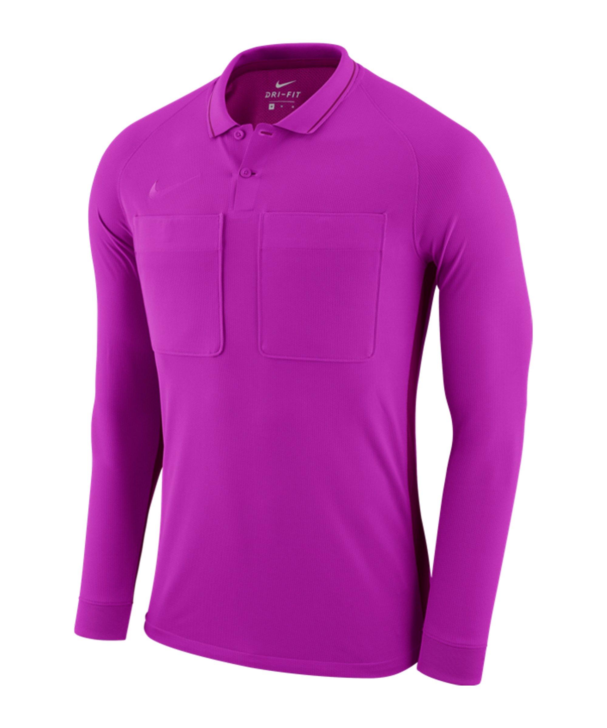 Nike Dry Referee Trikot langarm Lila F551 - lila