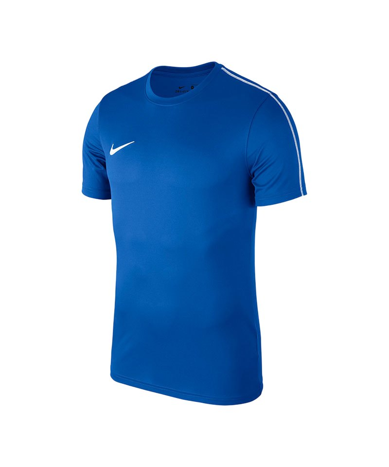 Nike Park 18 Football Top T-Shirt Blau F463 - blau