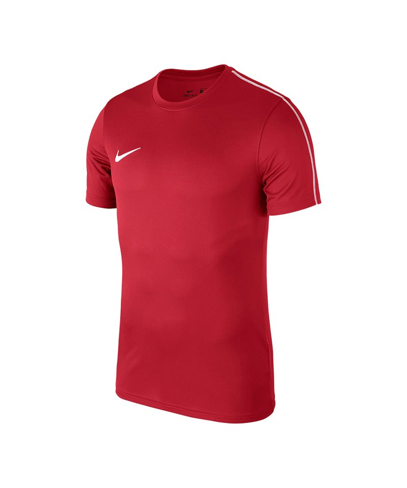 Nike Park 18 Football Top T-Shirt Rot F657 - rot