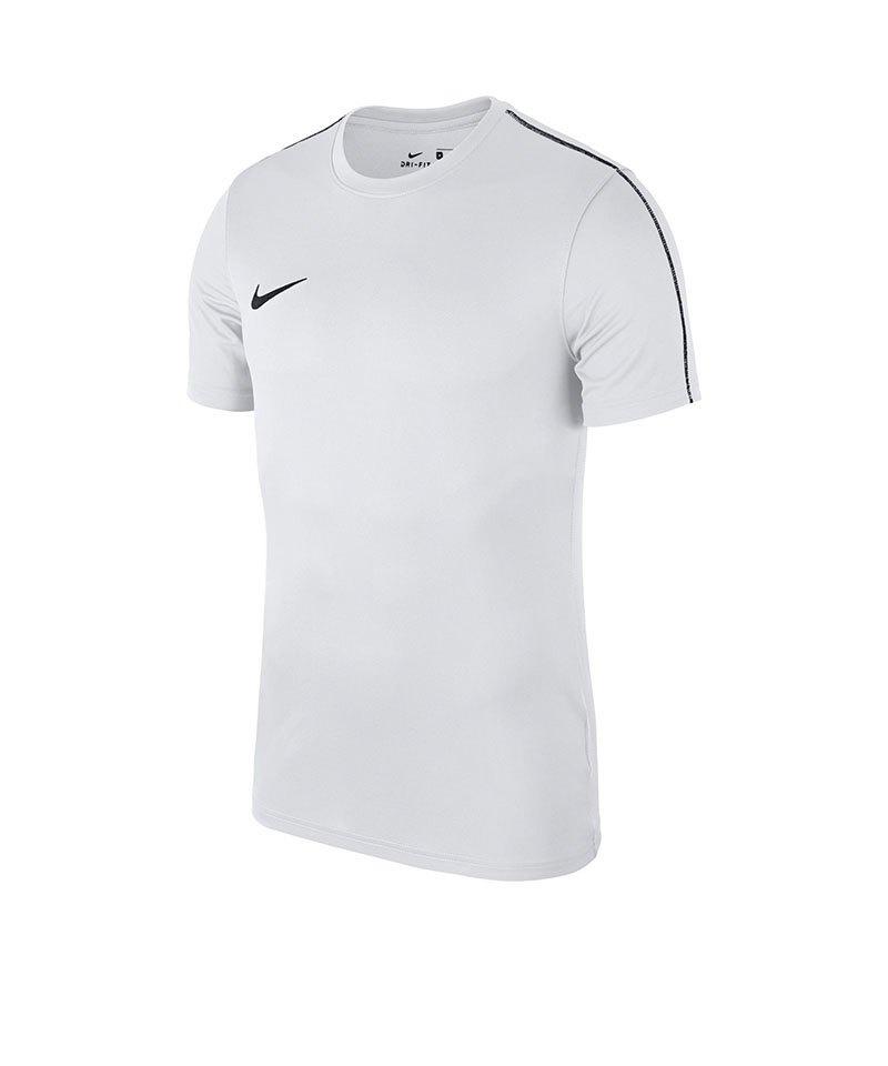 Nike Park 18 Football Top T-Shirt Weiss F100 - weiss