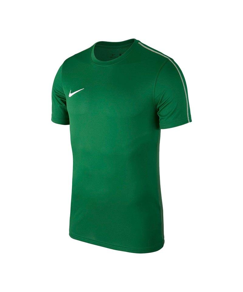 Nike Park 18 Football T-Shirt Kids Grün F302 - gruen