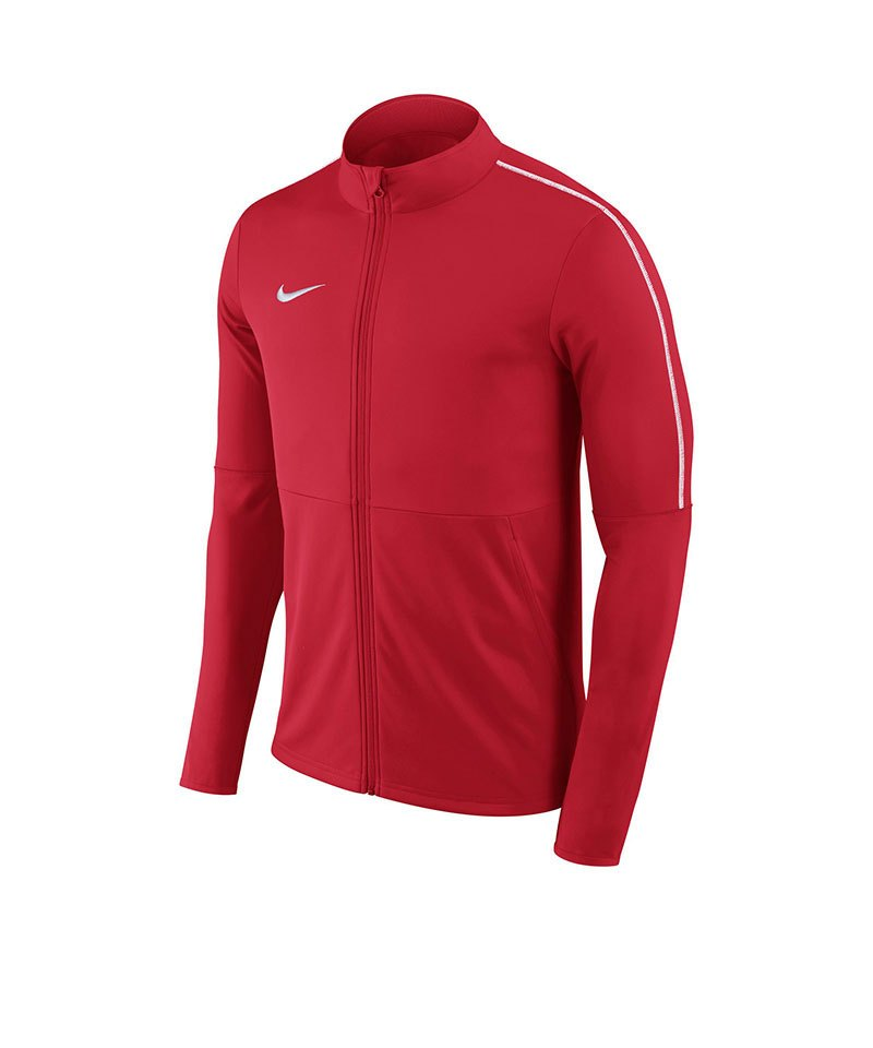 Nike Park 18 Football Trainingsjacke Rot F657 - rot