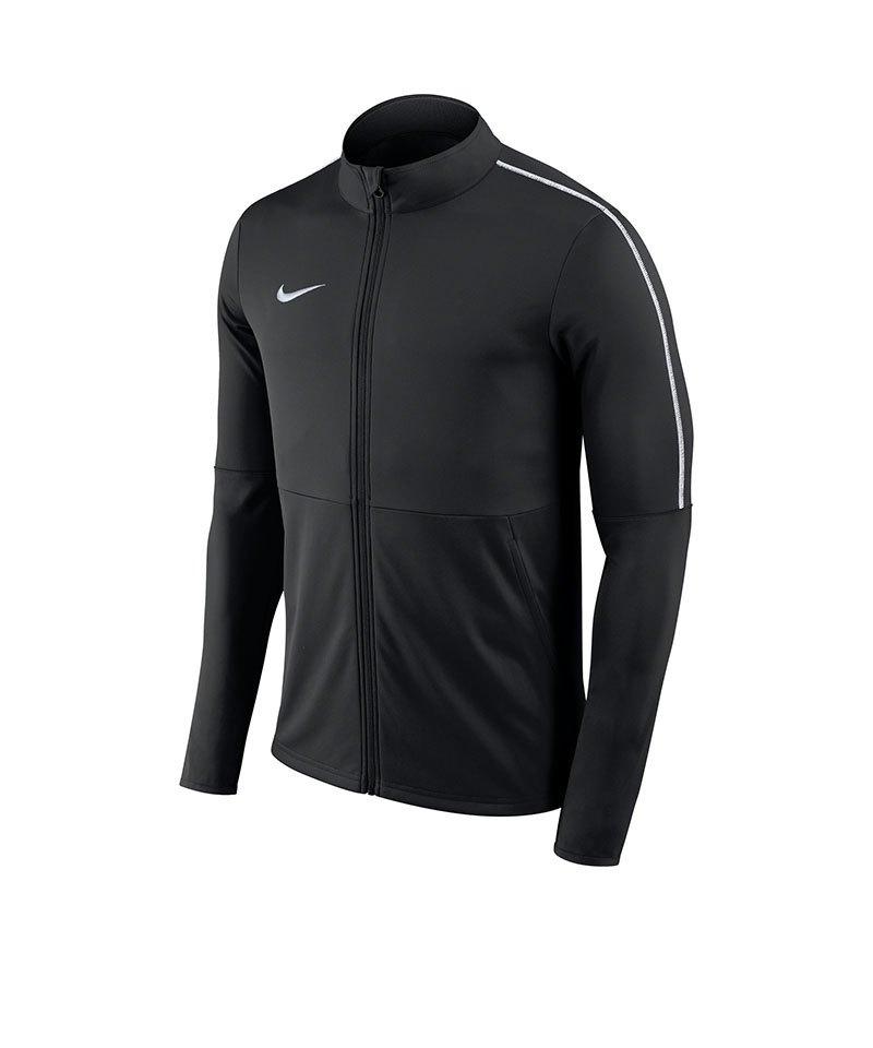 Nike Park 18 Football Trainingsjacke Schwarz F010 - schwarz