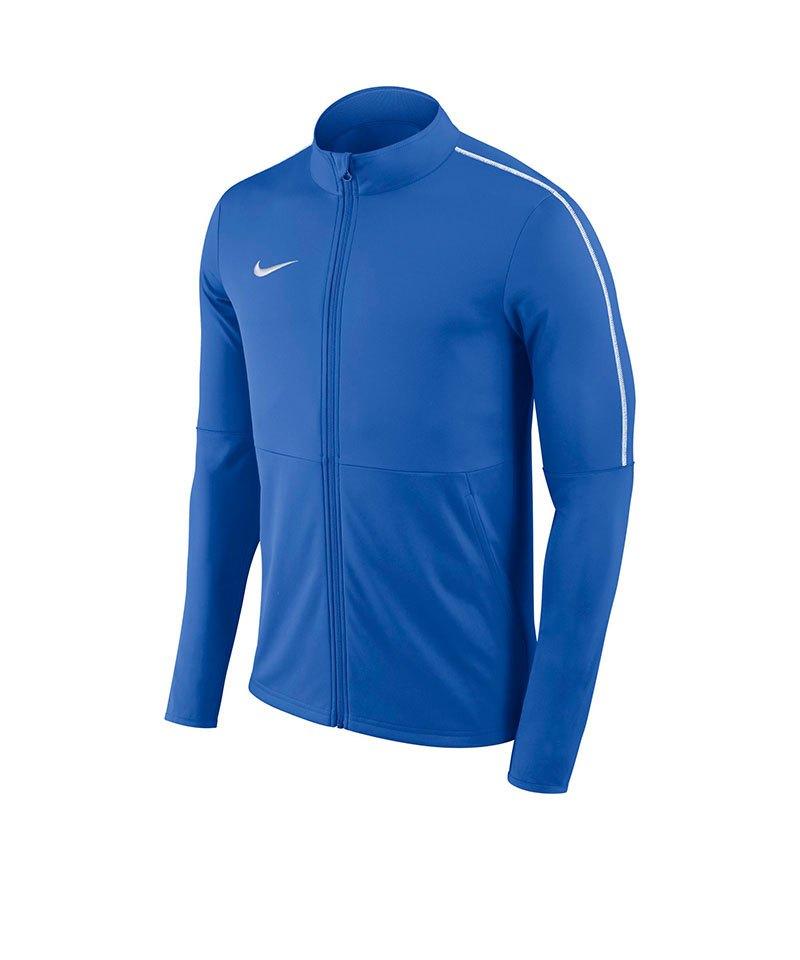 Nike Park 18 Football Trainingjacke Kids Blau F463 - blau
