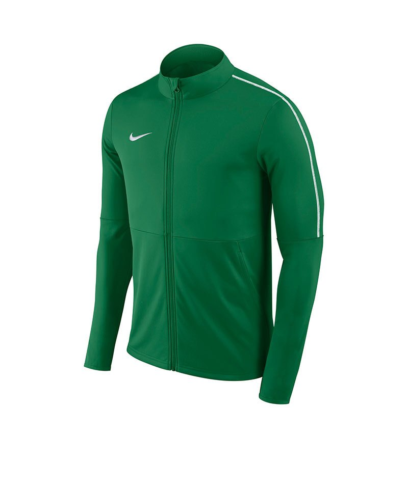 Nike Park 18 Football Trainingjacke Kids Grün F302 - gruen