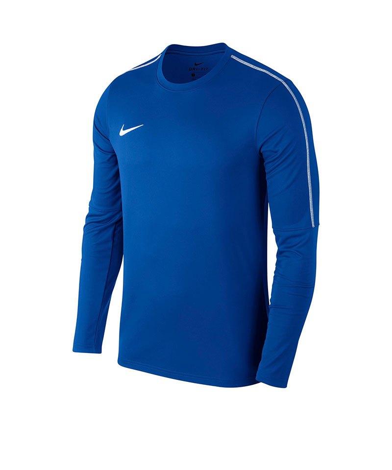 Nike Park 18 Crew Top Sweatshirt Kids Blau F463 - blau