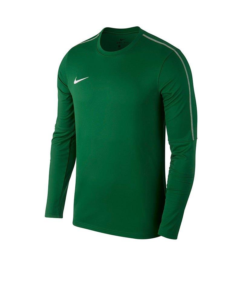 Nike Park 18 Crew Top Sweatshirt Kids Grün F302 - gruen
