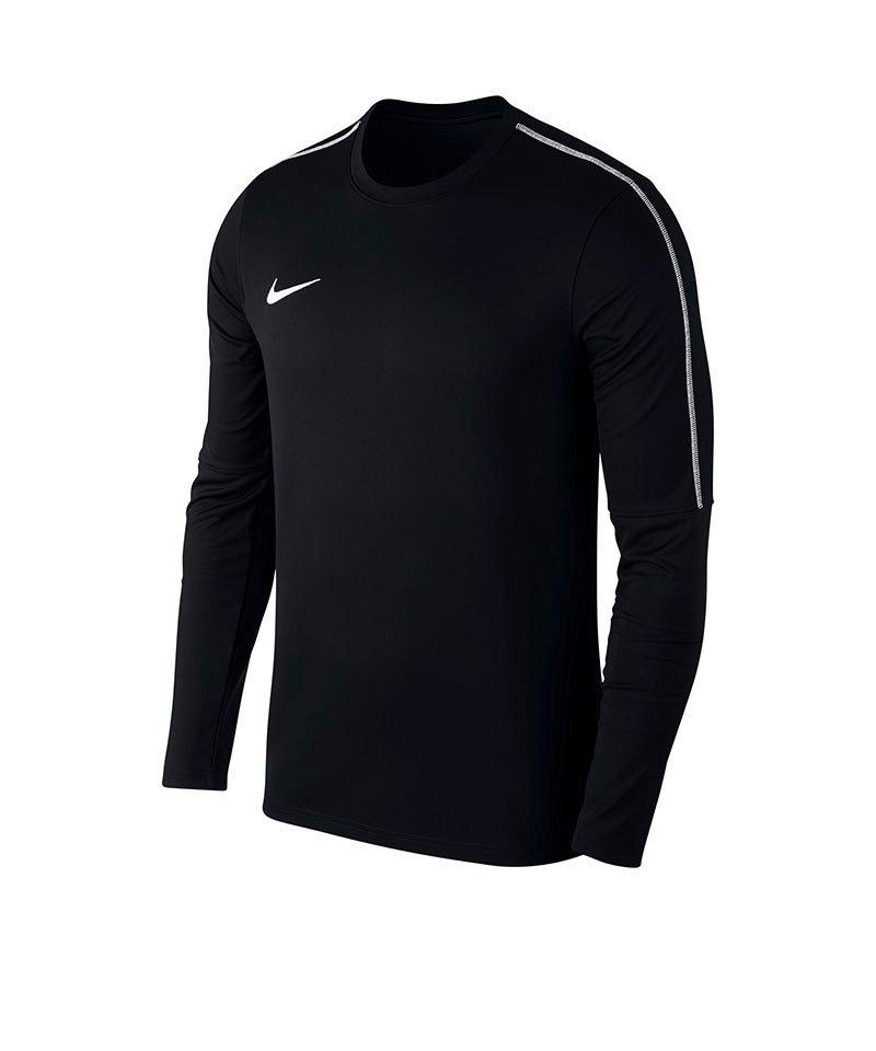 Nike Park 18 Crew Top Sweatshirt Kids Schwarz F010 - schwarz