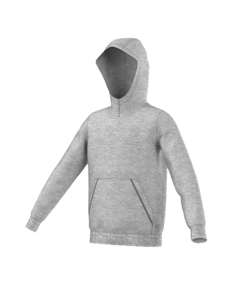adidas Core 15 Hoody Kinder Grau - grau