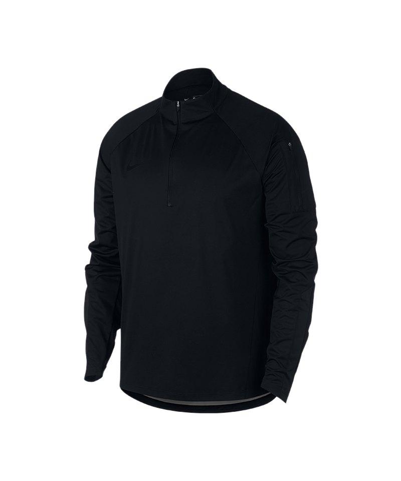 Nike Shield Squad Drill Sweatshirt Schwarz F010 - schwarz
