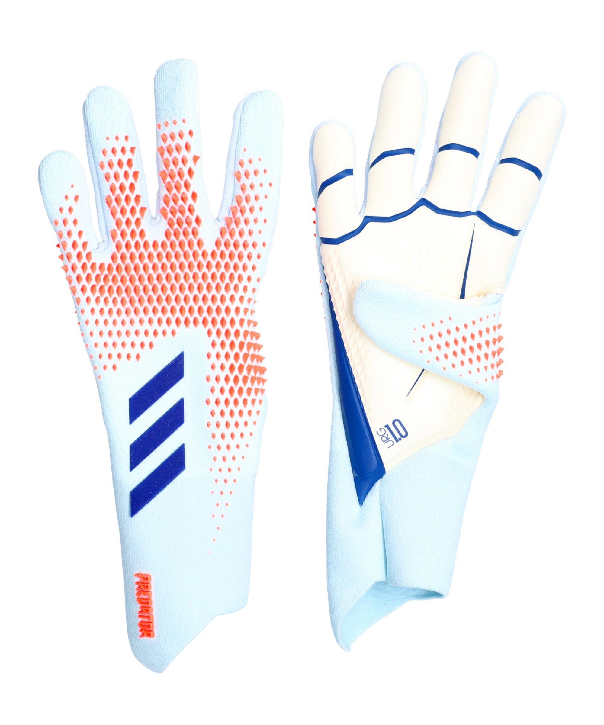 adidas Predator Pro Promo Torwarthandschuhe Blau - blau