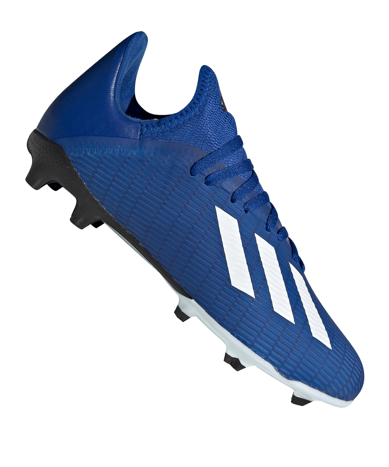 adidas X 19.3 FG J Kids Blau Weiss Schwarz - blau