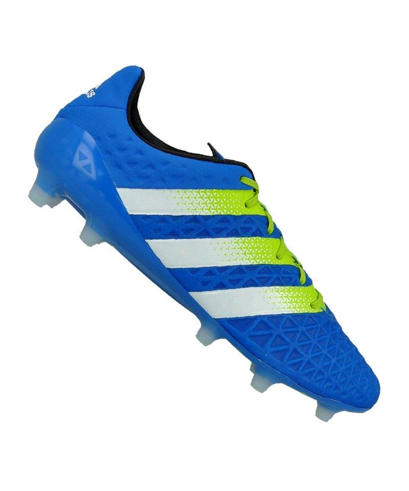 adidas ACE 16.1 FG Blau Grün - blau