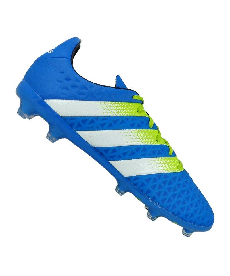adidas ACE 16.2 FG Blau Grün - blau