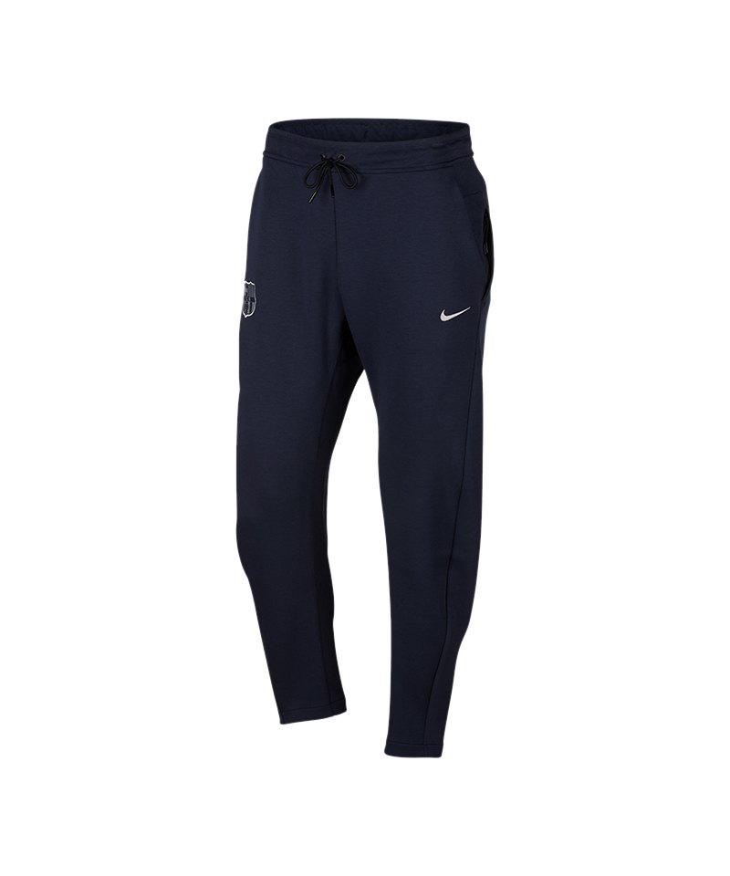 Nike FC Barcelona Tech Fleece Pant Blau F455 - blau