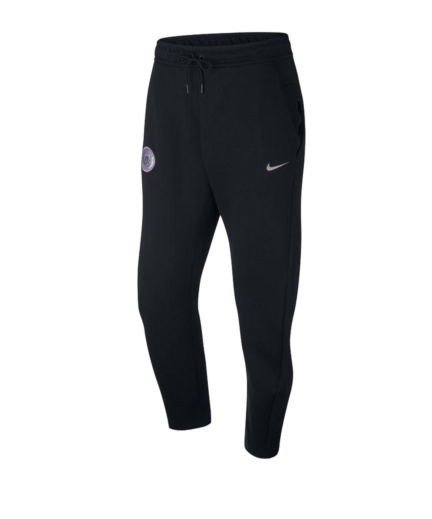 Nike Manchester City Tech Fleece Pant F014 - schwarz