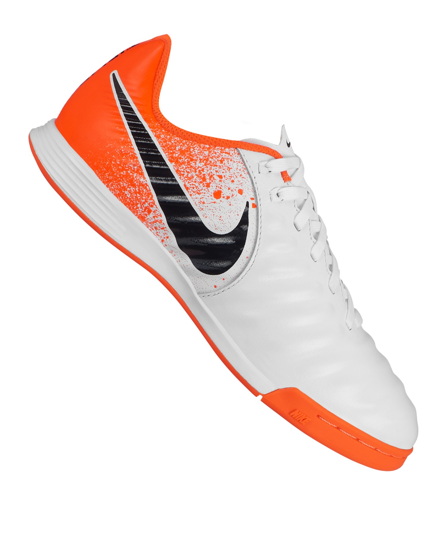 Nike Tiempo LegendX VII Academy IC Kids F118 - Weiss
