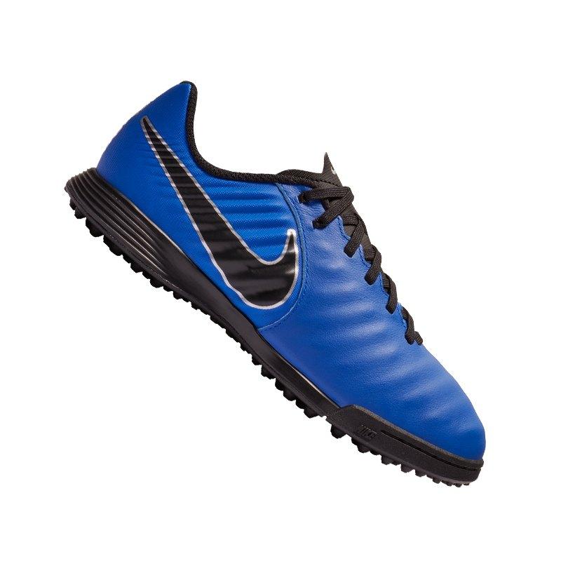 Nike Jr Tiempo LegendX VII Academy TF Kids F400 - blau