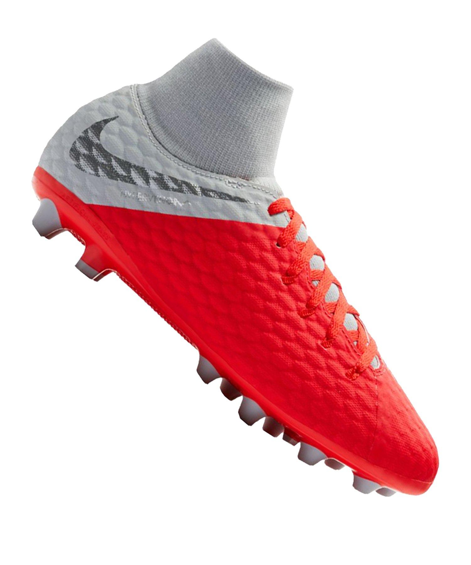 Nike Hypervenom Phantom III Academy DF AG Kids F600 - rot