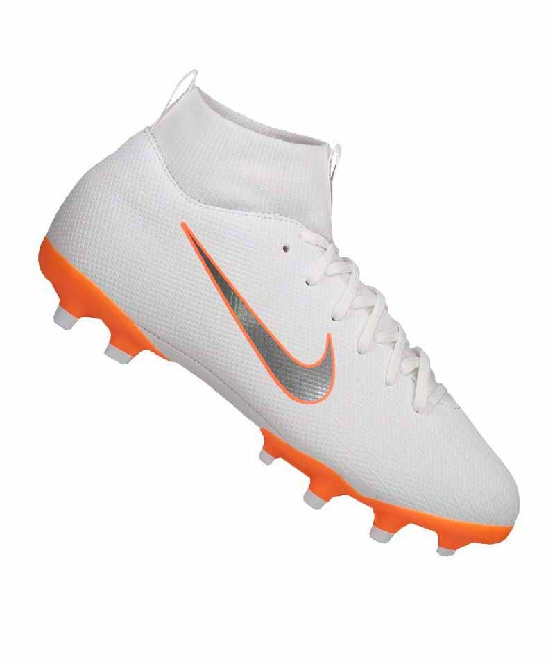 Nike Mercurial Superfly VI Academy MG Kids F107 - weiss