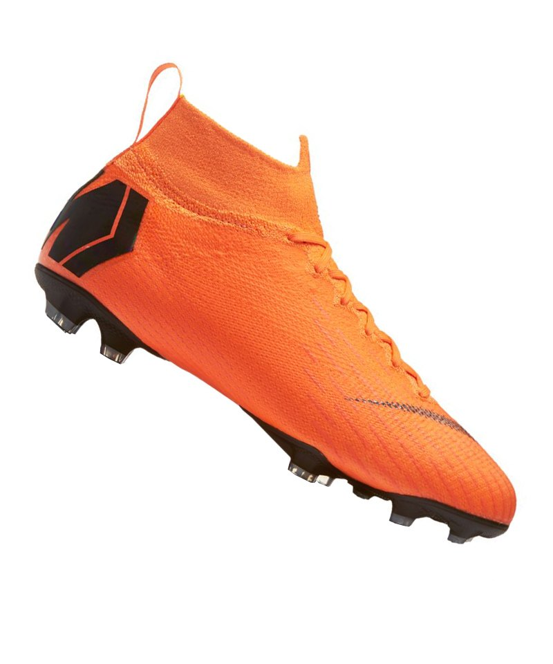 Nike Mercurial Superfly VI Elite FG Kids F810 - orange
