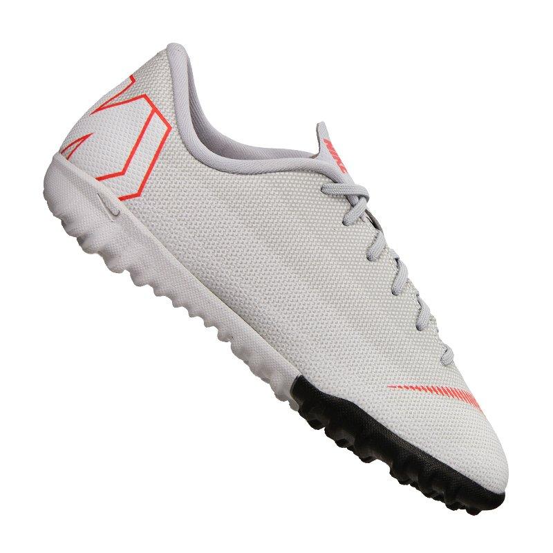 Nike Mercurial VaporX XII Academy TF GS Kids F060 - grau