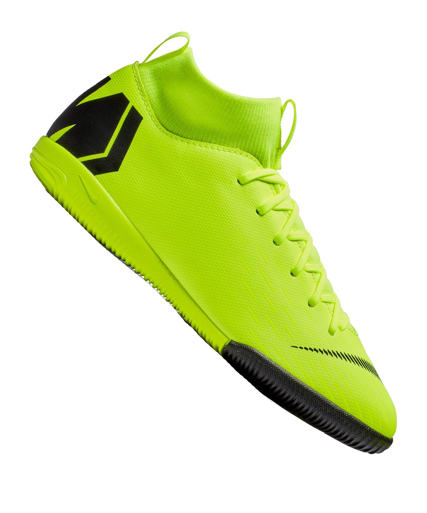 Nike Jr Mercurial SuperflyX VI Academy DF IC Kids F701 - schwarz
