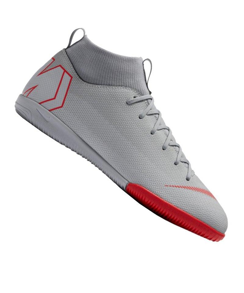 Nike Jr Mercurial SuperflyX VI Academy IC GS Kids F060 - grau
