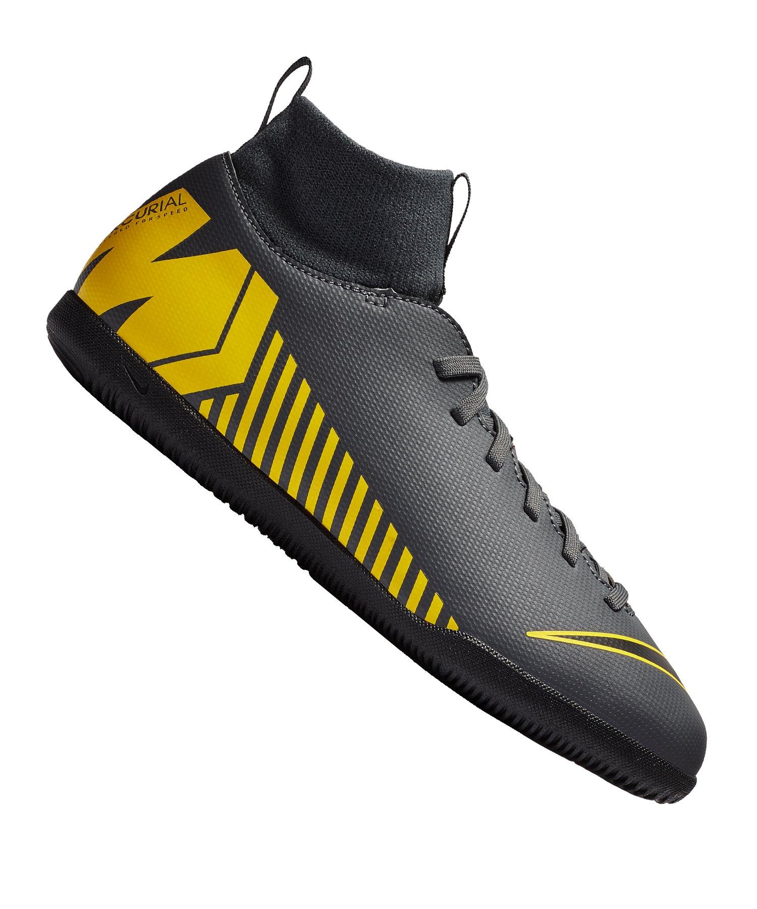 Nike Mercurial SuperflyX VI Club IC Kids F070 - grau