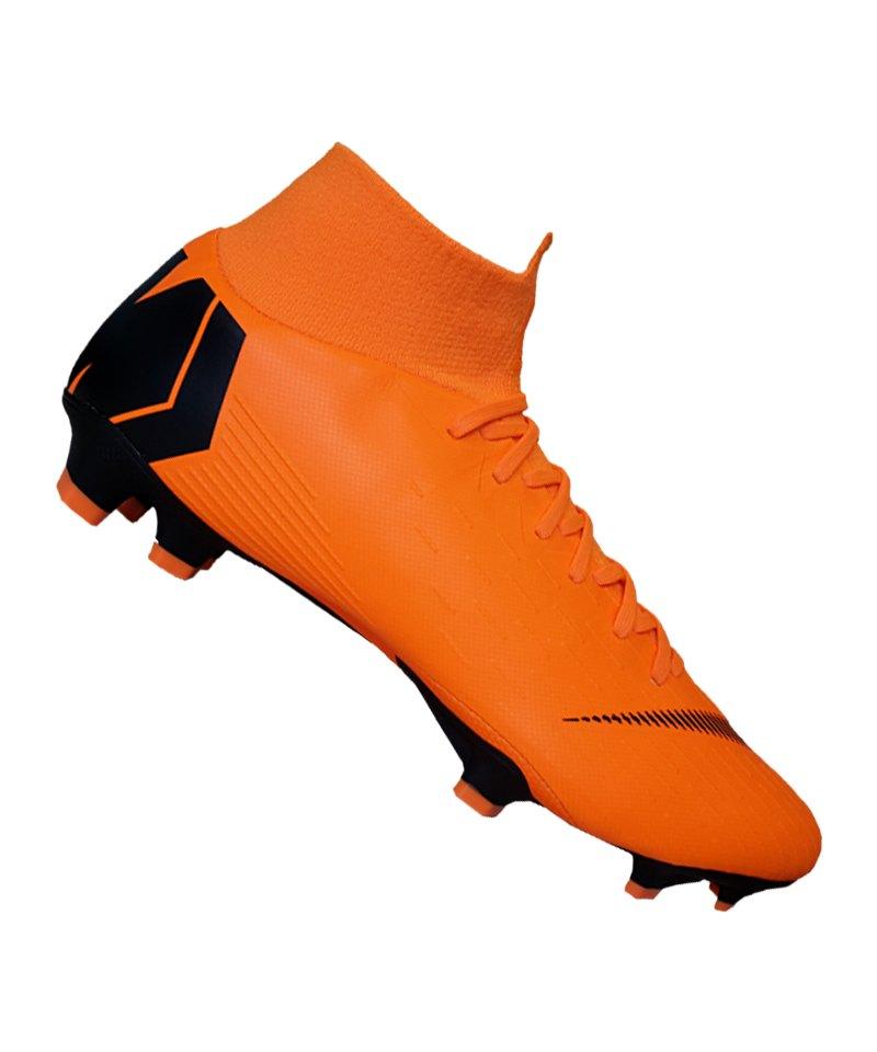 Nike Mercurial Superfly VI Pro FG Orange F810 - orange