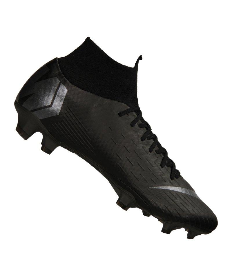 Nike Mercurial Superfly VI Pro FG Schwarz F001 - schwarz