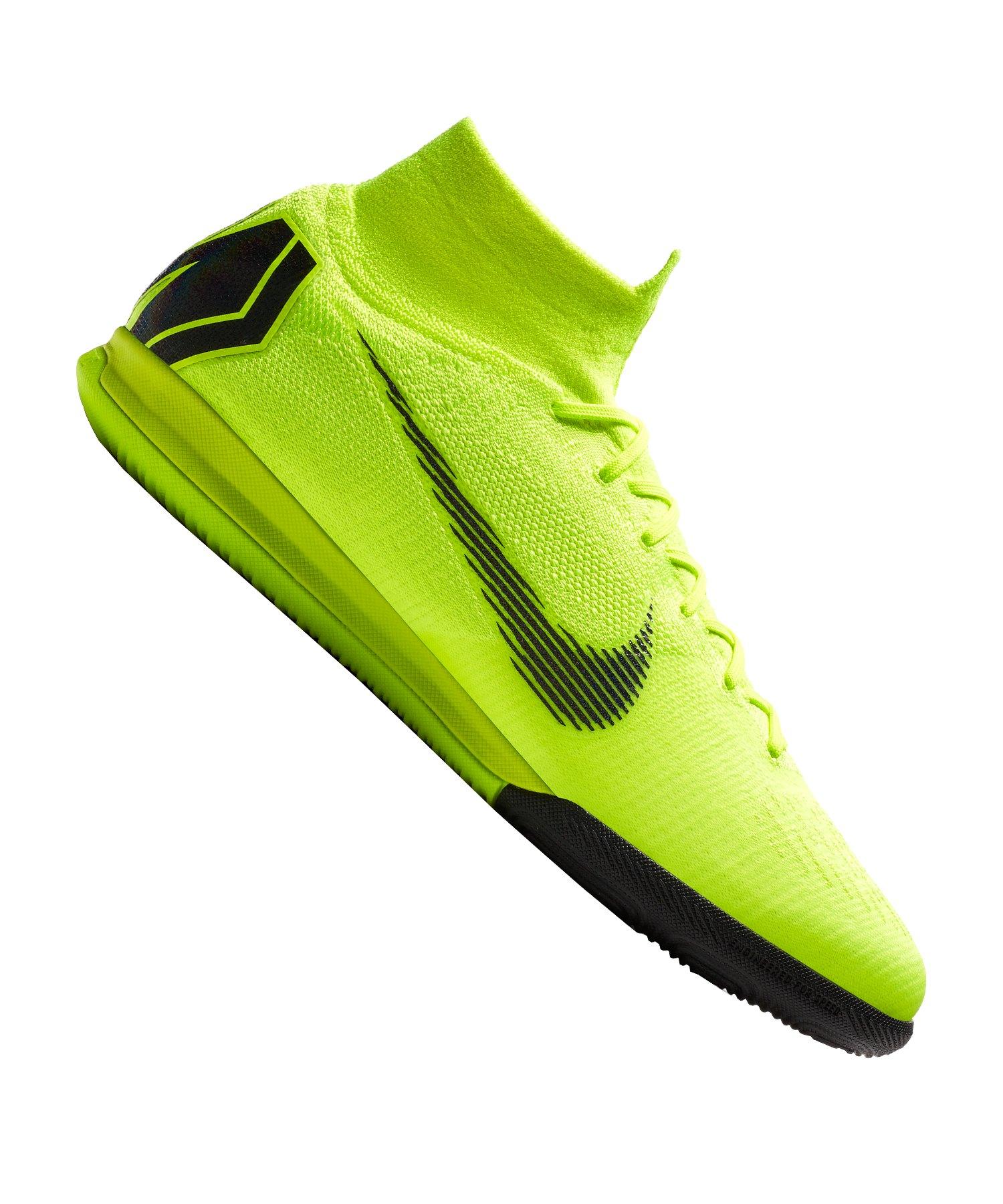 Nike Mercurial SuperflyX VI Elite IC Gelb F701 - gelb