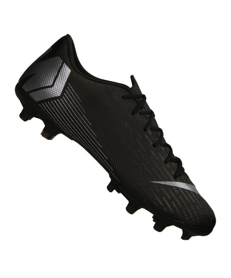 Nike Mercurial Vapor XII Academy MG Schwarz F001 - schwarz