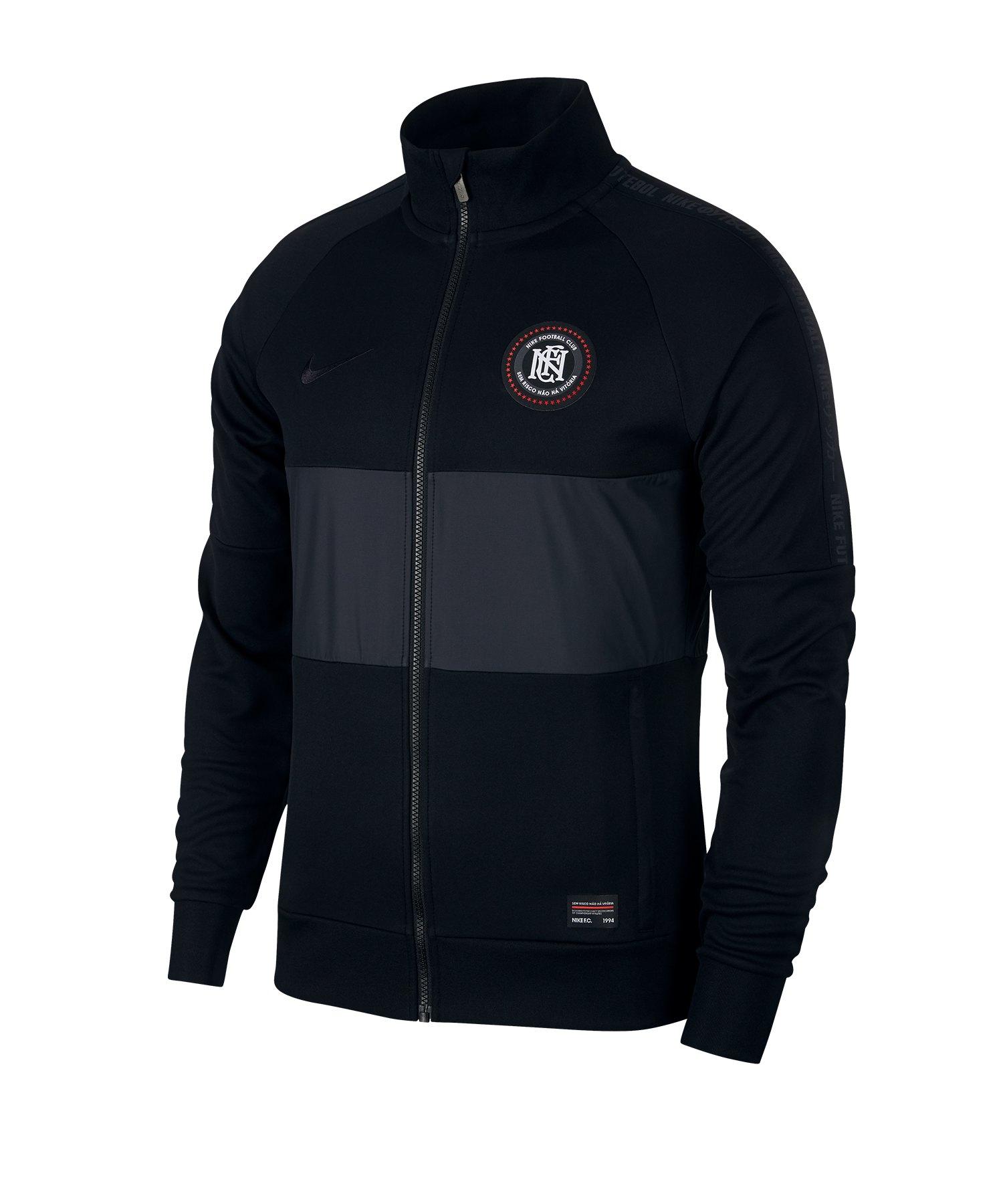 Nike F.C. Track Jacket Jacke Schwarz F010 - schwarz