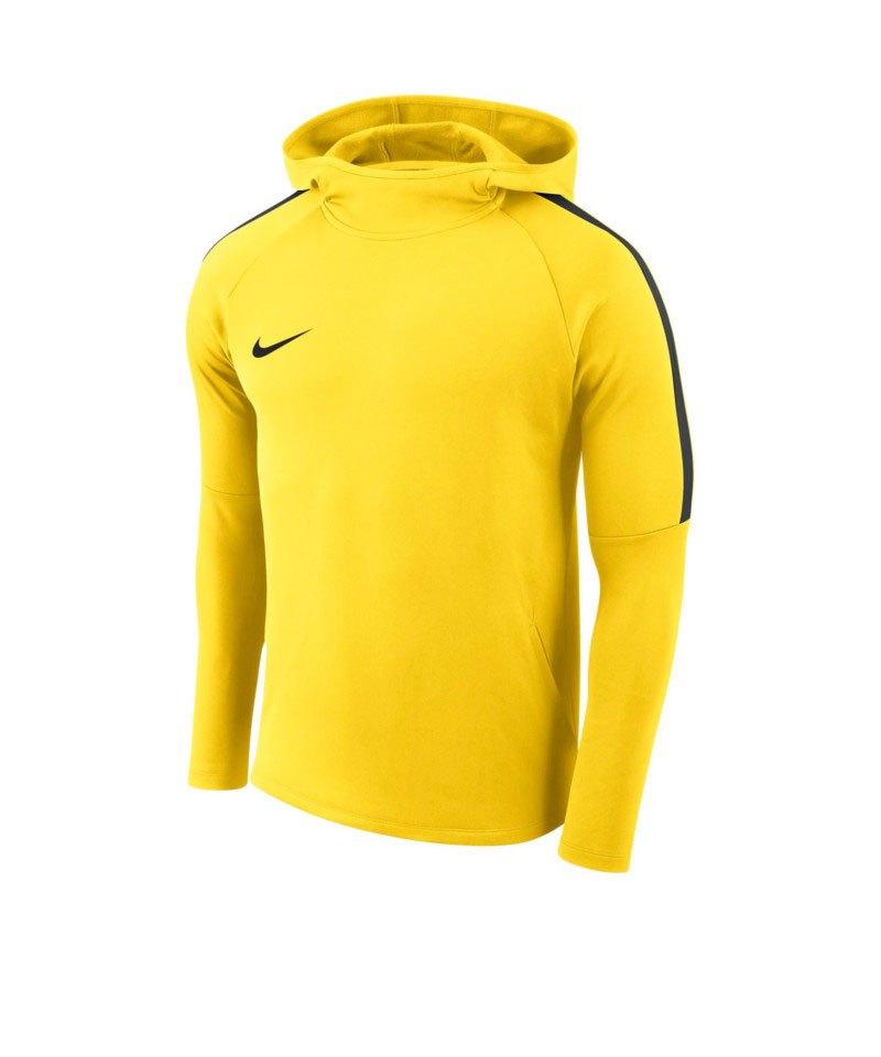 Nike Academy 18 Kapuzensweatshirt Gelb F719 - gelb