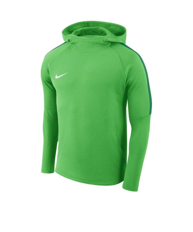 Nike Academy 18 Kapuzensweatshirt Grün F361 - gruen