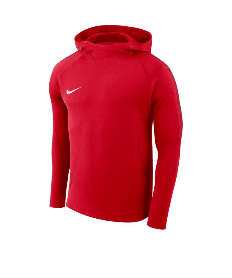Nike Academy 18 Kapuzensweatshirt Rot F657 - rot