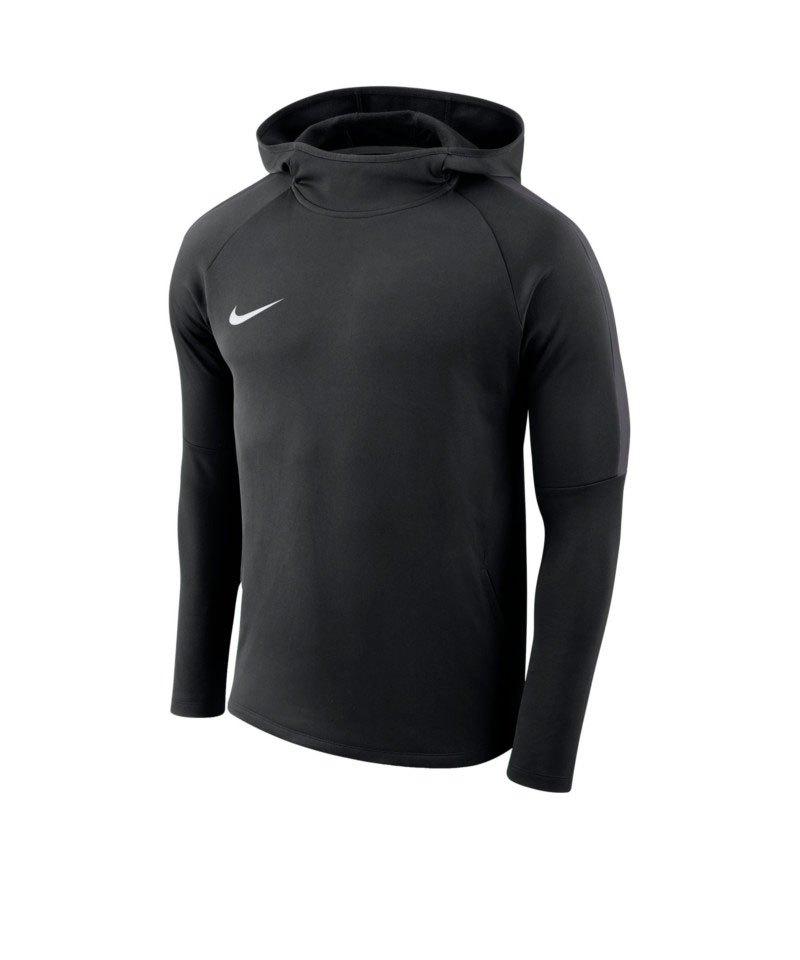 Nike Academy 18 Kapuzensweatshirt Schwarz F010 - schwarz