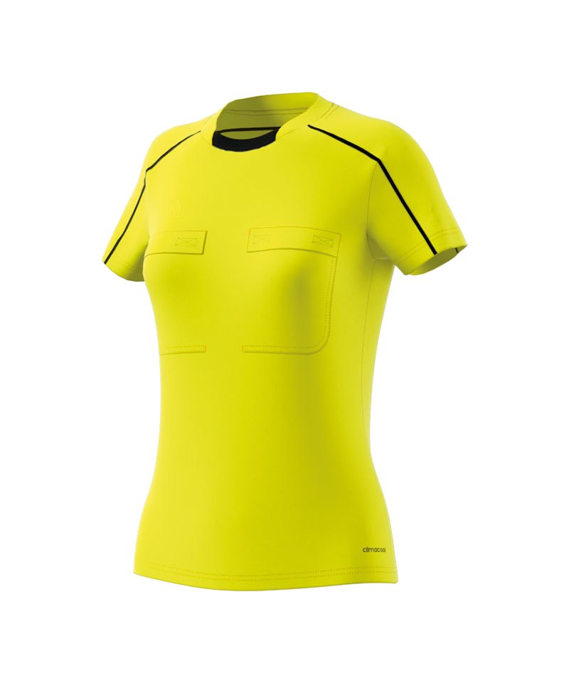 adidas Trikot kurzarm Referee 16 Damen Gelb - gelb