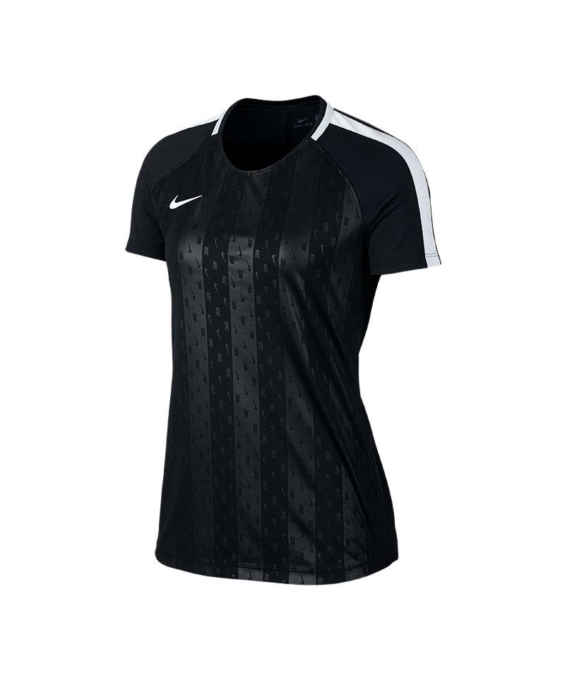 Nike Dry Academy GX T-Shirt Damen Schwarz F010 - schwarz