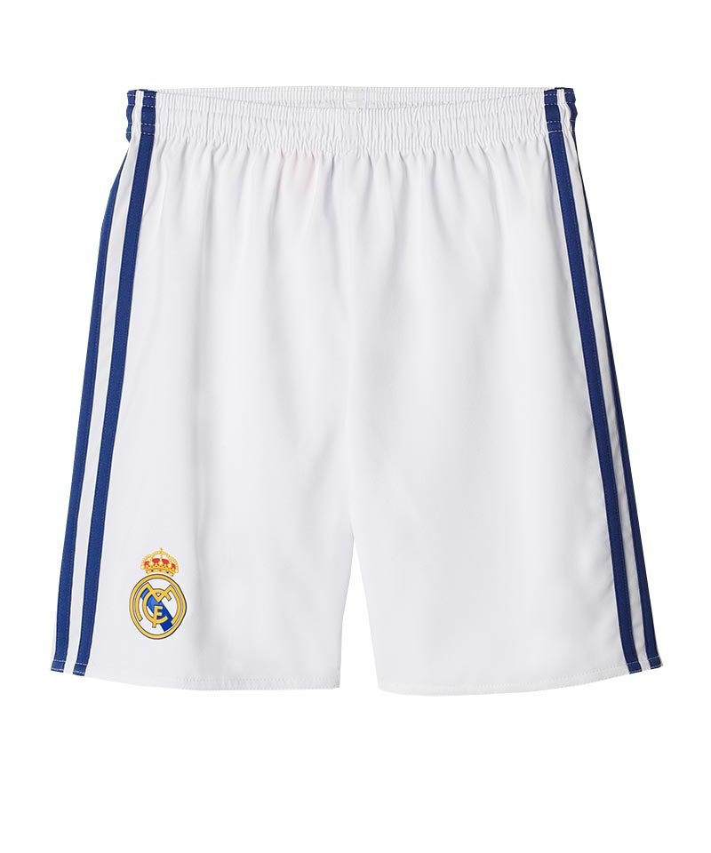 adidas Short Home 2016/17 Real Madrid Weiss - weiss