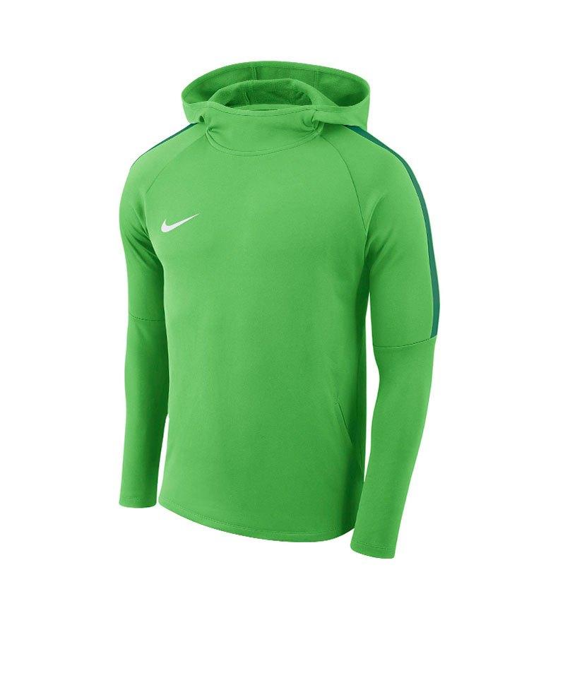 Nike Academy 18 Kapuzensweatshirt Kids F361 - gruen