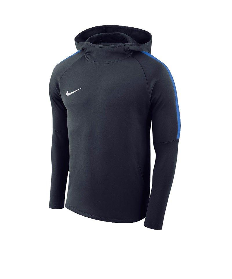 Nike Academy 18 Kapuzensweatshirt Kids F451 - blau