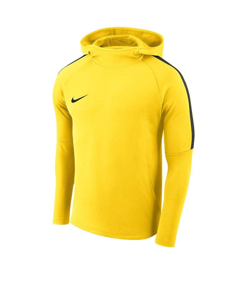 Nike Academy 18 Kapuzensweatshirt Kids F719 - gelb