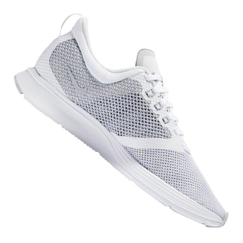Nike Zoom Striker Running Damen Weiss Grau F100 - weiss