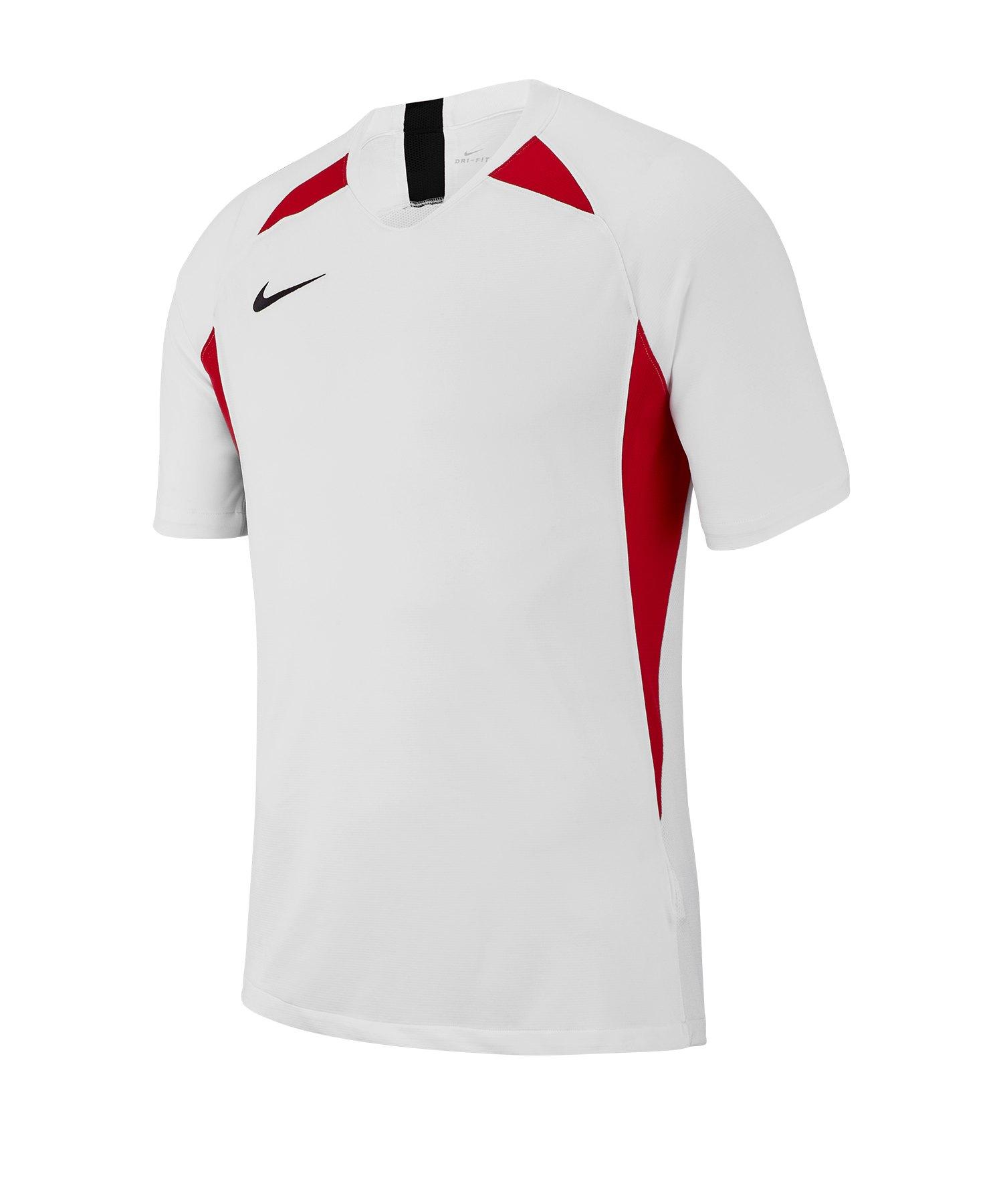 Nike Legend Trikot kurzarm Weiss Rot F101 - weiss