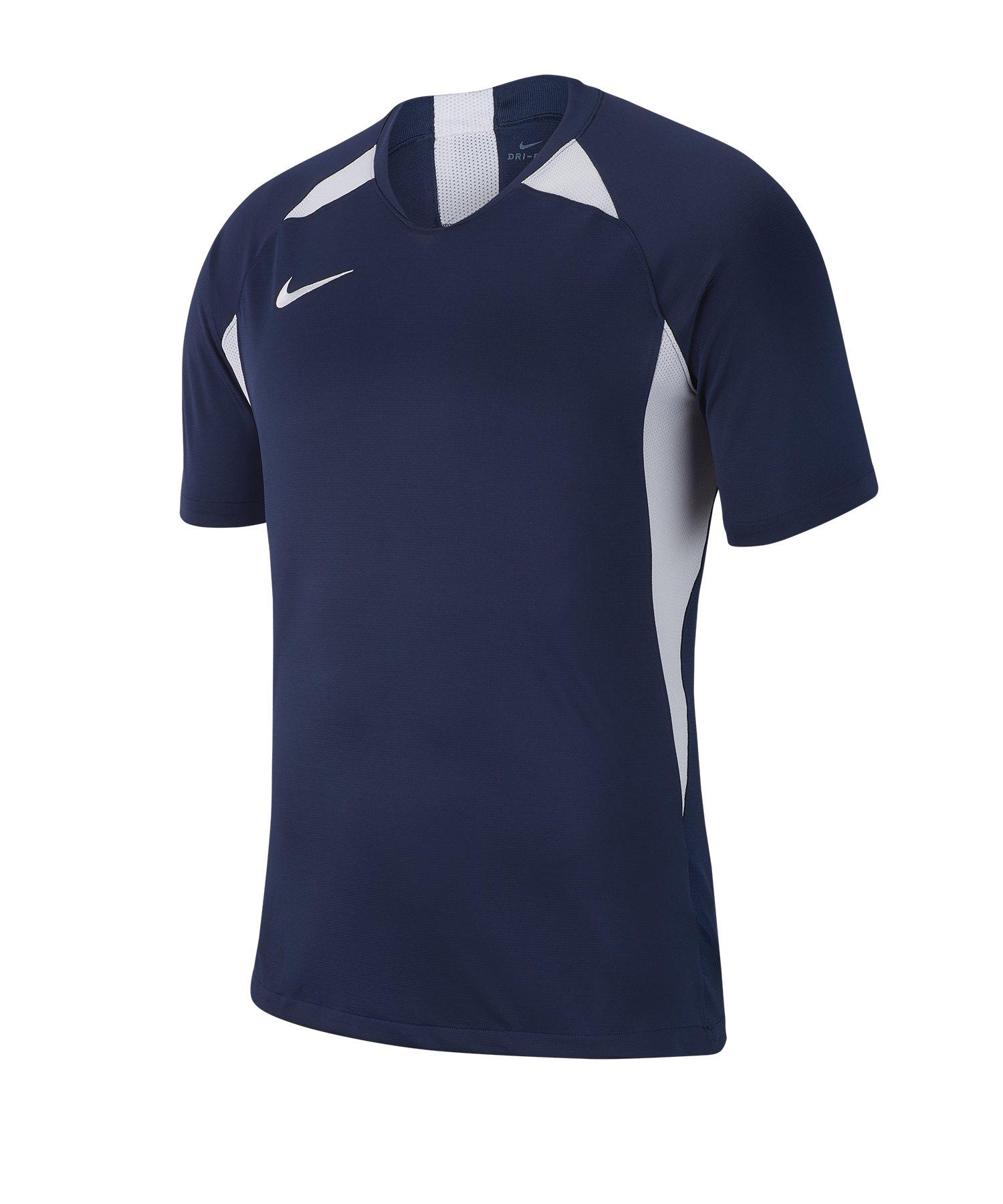 Nike Legend Trikot kurzarm Kids Blau Weiss F410 - blau