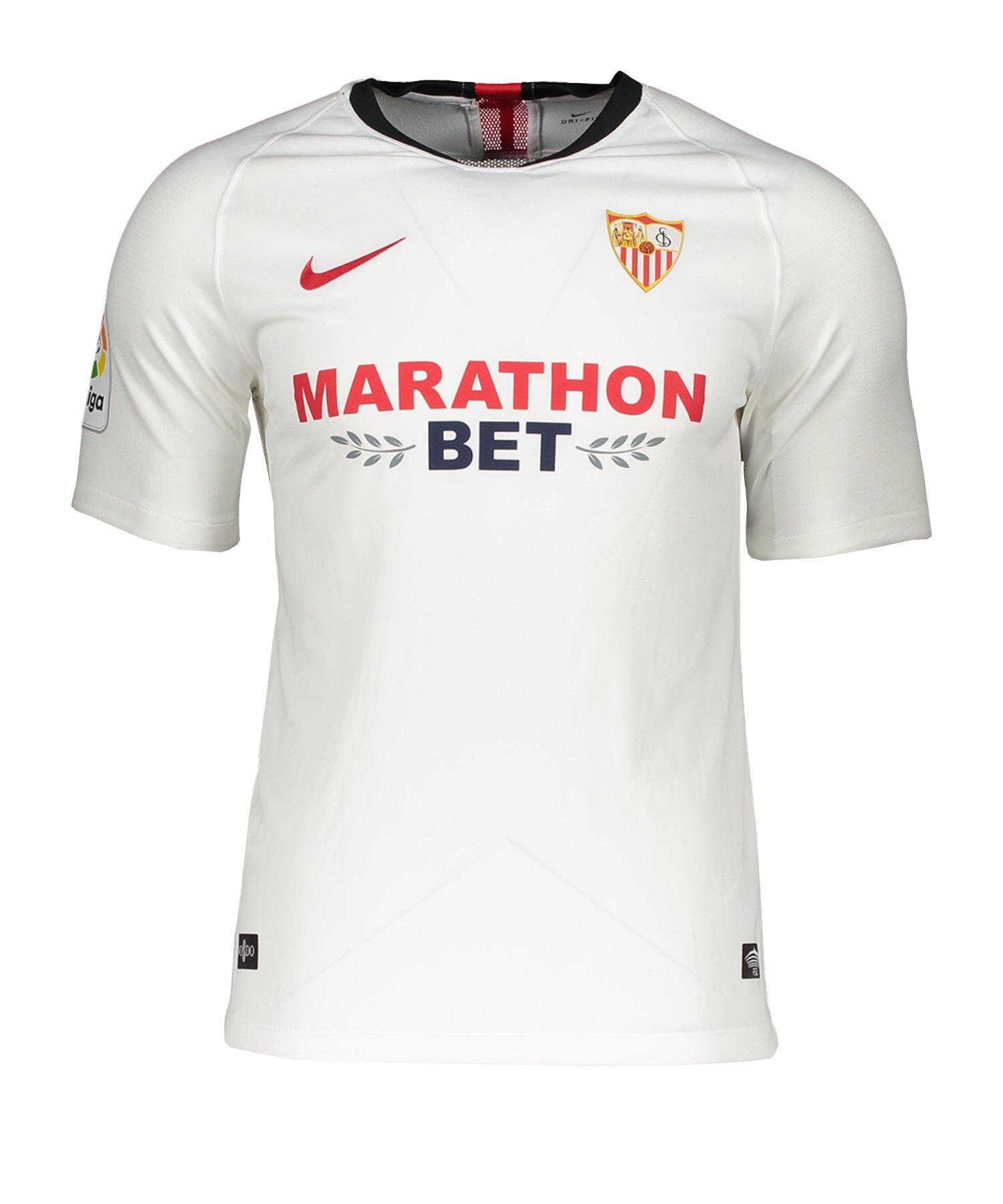 Nike FC Sevilla Trikot Home 2019/2020 Weiss F104 - weiss